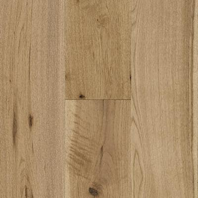 Time Honored Oak Tinted Natural 3/8 in. T x 7-1/4 in. W x Vary L Engineered Click Hardwood Flooring (32.63 sq. ft./case)