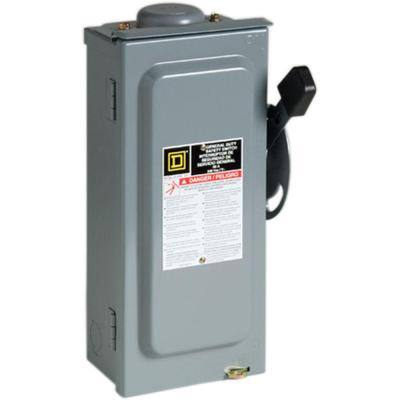 60 Amp 240-Volt 2-Pole Fused Outdoor General Duty Safety Switch