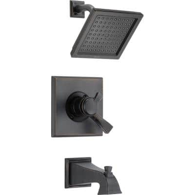 Dryden 1-Handle Tub and Shower Faucet Trim Kit in Venetian Bronze (Valve Not Included)