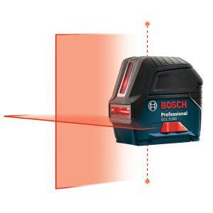 Deals on Bosch 65 ft. Cross Line Laser Level with Plumb Points