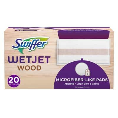 WetJet Wood Mopping Pads (20-Count)