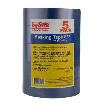 835 1-1/2 in. x 60 yds. Painter's Tape (5-Pack)