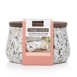 Ocean Hibiscus Large Outdoor Candle