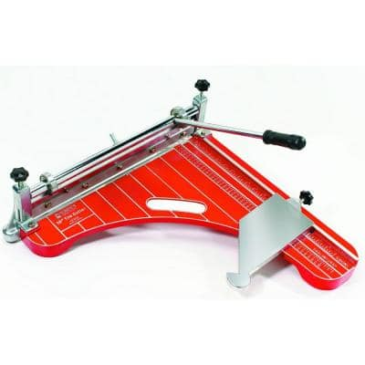 18 in. Pro Grade, VCT Vinyl Tile and Luxury Vinyl Tile Cutter up to 1/8 Thickness
