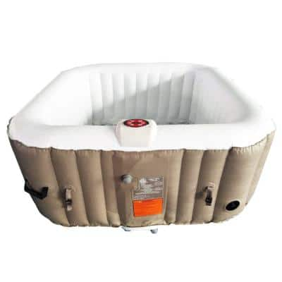 4-Person 130-Jet Inflatable Hot Tub