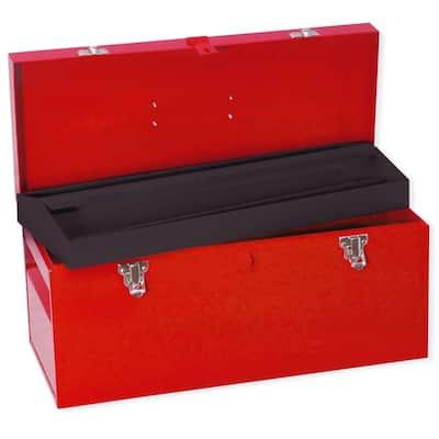 Heavy Duty Metal Tool Box - 20 in. X 8 in. X 9 in.