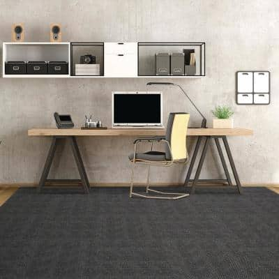 Peel and Stick First Impressions Denim Hobnail Texture 24 in. x 24 in. Commercial Carpet Tile (15 Tiles/Case)
