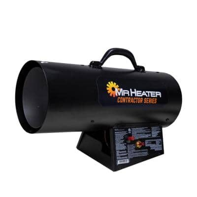 Contractor Series 35,000 BTU Portable Forced Air Propane Heater