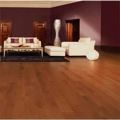 Canadian Northern Birch Gunstock 3/4 in. T x 2-1/4 in. Wide x Varying Length Solid Hardwood Flooring (20 sq. ft. / case)
