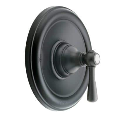 Kingsley Posi-Temp Single-Handle Valve Trim Kit in Wrought Iron (Valve Not Included)
