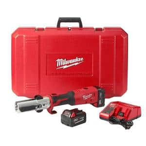 M18 18-Volt Lithium-Ion Cordless FORCE LOGIC Long Throw Press Tool Kit W/(2) 3.0Ah Batteries, Charger, Hard Case