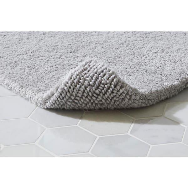 X 40 In Cotton Reversible Bath Rug, Reversible Bathroom Rugs