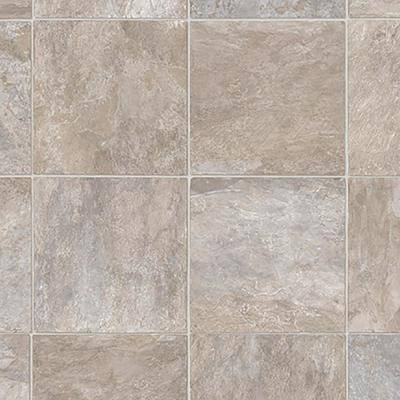 Wheaton Tile Stone Residential Vinyl Sheet Flooring 13.2ft. Wide x Cut to Length