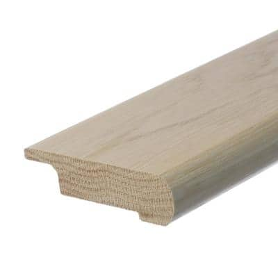 Solid Hardwood Tesa 0.5 in. T x 2.75 in. W x 78 in. L Overlap Stair Nose