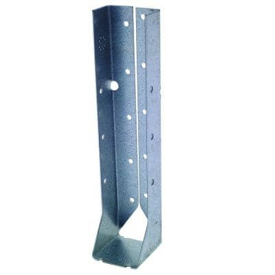 LUC ZMAX Galvanized Face-Mount Concealed-Flange Joist Hanger for 2x10 Nominal Lumber