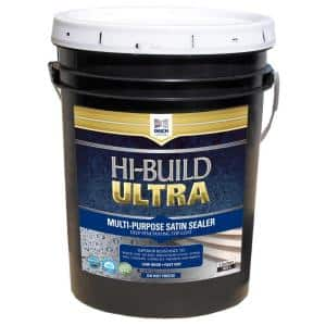 5 Gal. Satin Clear Coat Sealer Water and Chemical Resistant with Urethane