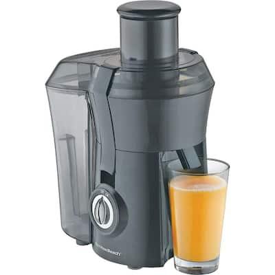 Big Mouth 800-Watt 10 oz. Black Centrifugal Juice Extractor