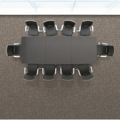 Simply Comfort Boardwalk Loop 19.7 in. x 19.7 in. Carpet Tile (20 Tiles/Case)