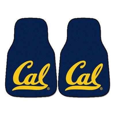 University of California, Berkeley of 18 in. x 27 in. 2-Piece Carpeted Car Mat Set
