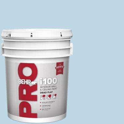 5 gal. #M500-1 Tinted Ice Dead Flat Interior Paint