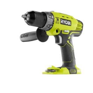 18-Volt ONE+ Cordless 1/2 in. Hammer Drill/Driver (Tool Only) with Handle
