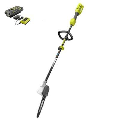 40V 10 in. Cordless Battery Pole Saw with 2.0 Ah Battery and Charger