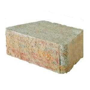 RockWall Small 4 in. x 11.75 in. x 6.75 in. Palomino Concrete Retaining Wall Block