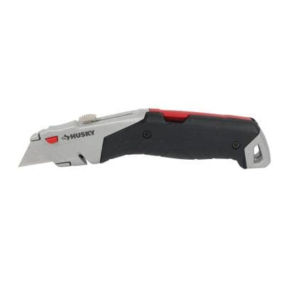 Quick-Release Retractable Utility Knife