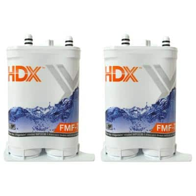 FMF-7 Premium Refrigerator Water Filter Replacement Fits Frigidaire Pure Source 2 (2-Pack)