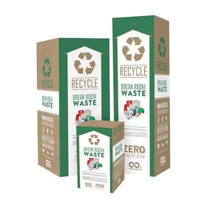 18 Gal. Drywall Zero Waste Box Recycling Bin