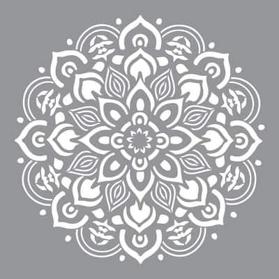12 in. x 12 in. Mandala Stencil