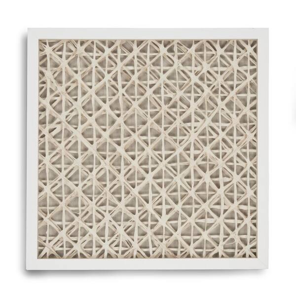 Zentique Abstract Paper Framed Wall Art By Zentique Zen22165d The Home Depot