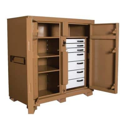 60 in. 7 Drawer Cabinet