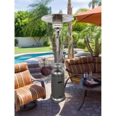 48,000 BTU Stainless Steel Propane Patio Heater