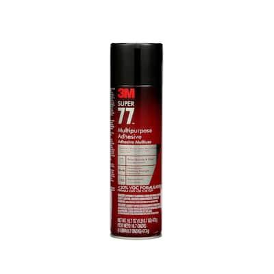 16.7 oz. Super 77 Multipurpose Adhesive
