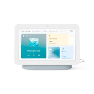 "Nest Hub 2nd Gen - Smart Home Speaker and 7"" Display with Google Assistant - Mist"