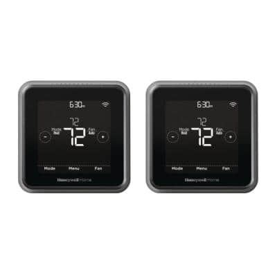 T5 7-Day Programmable Smart Thermostat with Touchscreen Display (2-Pack)