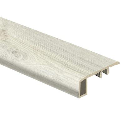 Ocala Oak/Chiffon Lace Oak/Salt Shore Wood/Soft Linen 7/16 in. T x 1-3/4 in. W x 72 in. L Vinyl Carpet Reducer Molding
