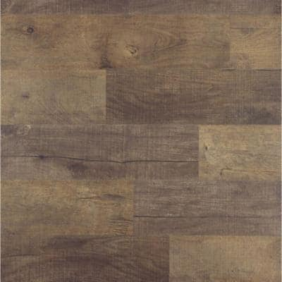 Element Wood 1/4 in. x 6 in. x 48 in. Brown Resin Decorative Wall Panel (18-Pack)