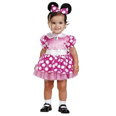 12-18 months Disney's Infant Pink Minnie Mouse Costume