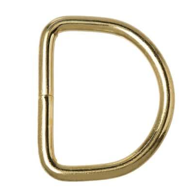 1-5/8 in. Brass D-Ring