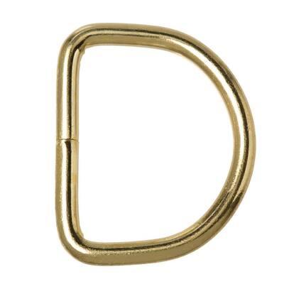 1-1/8 in. Brass D-Ring
