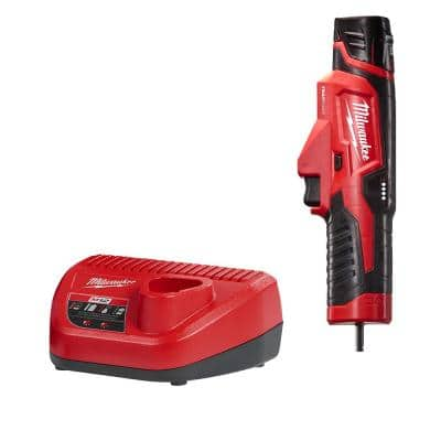 M12 Trap Snake 12-Volt Lithium-Ion Cordless Toilet and Urinal Auger Power Driver w/ 1.5AH Battery and Charger