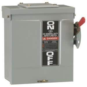 60 Amp 240-Volt Non-Fuse Outdoor General-Duty Safety Switch