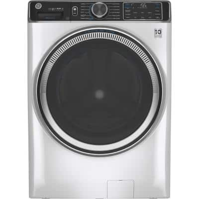5.0 cu. ft. White Front Load Washing Machine with OdorBlock UltraFresh Vent System with Sanitize and Allergen