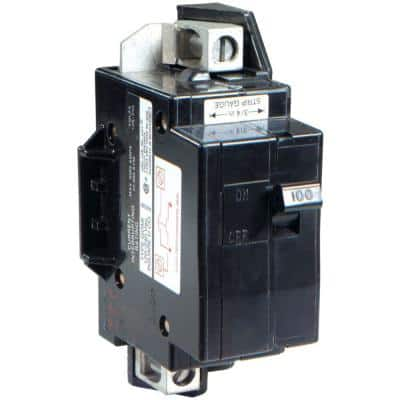 QO 100 Amp 22k AIR QOM1 Frame Size Main Breaker for QO or Homeline 125 or 100 Amp Load Centers