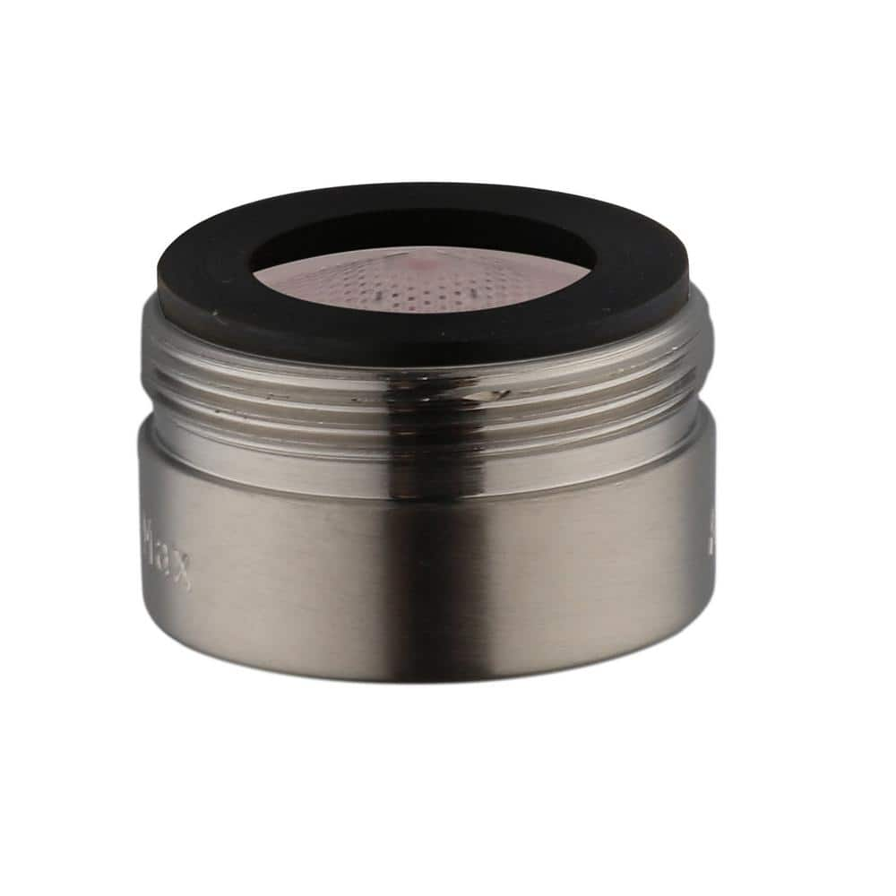 Glacier Bay Builders 8 In Widespread 1 2 Gpm Bathroom Sink Faucet Aerator In Brushed Nickel Rp90130 The Home Depot