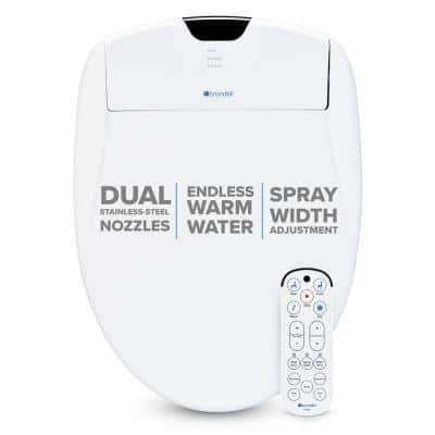 Swash 1400 Luxury Electric Bidet Seat for Elongated Toilet in White