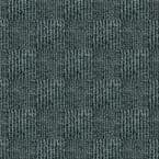 Peel and Stick First Impressions City Block Smoke Texture 24 in. x 24 in. Commercial Carpet Tile (15 Tiles/Case)