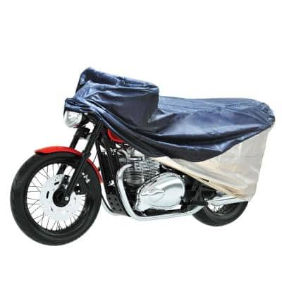 Detailer's Preference Polypropelene 90 in. L x 58.8 in. W x 132 in H Large/Extra Large Motorcycle Cover